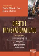 Capa do livro: Direito e Transnacionalidade, Coordenadores: Paulo Cruz e Joana Stelzer