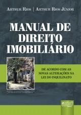 Capa do livro: Manual de Direito Imobiliário, Arthur Rios e Arthur Rios Júnior