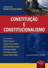 Capa do livro: Constituição e Constitucionalismo, Gustavo Ferreira Santos