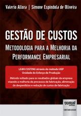 Capa do livro: Gestão de Custos, Valerio Allora e Simone Espíndola de Oliveira