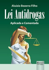 Capa do livro: Lei Antidrogas, Aluízio Bezerra Filho