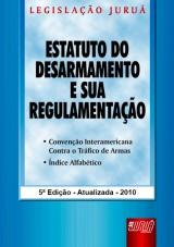 Capa do livro: Estatuto do Desarmamento e sua Regulamentação, Organizadores: Emilio Sabatovski, Iara P. Fontoura