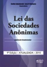 Capa do livro: Lei das Sociedades Anônimas, Organizadores: Emilio Sabatovski e Iara P. Fontoura