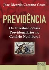 Capa do livro: Previdência, José Ricardo Caetano Costa