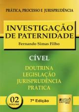 Capa do livro: Investiga��o de Paternidade - PPJ C�vel, 7� Edi��o, Fernando Simas Filho