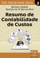 Capa do livro: Resumo de Contabilidade de Custos, Marlúcio Cândido e Ranylson de Sá Barreto Neto