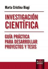 Capa do livro: Investigación Científica, Marta Cristina Biagi