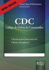 Capa do livro: Código de Defesa do Consumidor - CDC - Minibook, Organizadores: Emilio Sabatovski e Iara P. Fontoura