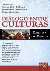 Capa do livro: Diálogos entre Culturas, Coordenadores: Antônio César Bochenek, José Querino Tavares Neto e Orides Mezzaroba