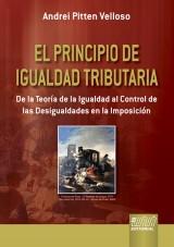 Capa do livro: El Principio de Igualdad Tributaria, Andrei Pitten Velloso
