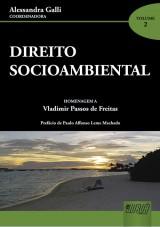 Capa do livro: Direito Socioambiental, Coordenadora: Alessandra Galli