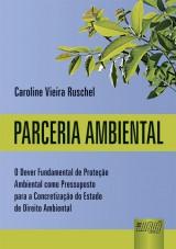 Capa do livro: Parceria Ambiental, Caroline Vieira Ruschel