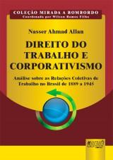 Capa do livro: Direito do Trabalho e Corporativismo, Nasser Ahmad Allan
