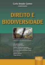 Capa do livro: Direito e Biodiversidade, Coordenadora: Carla Amado Gomes