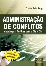 Capa do livro: Administração de Conflitos, Ernesto Artur Berg