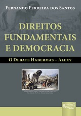 Capa do livro: Direitos Fundamentais e Democracia, Fernando Ferreira dos Santos