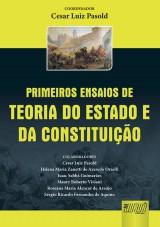 Capa do livro: Primeiros Ensaios de Teoria do Estado e da Constituição, Organizador: Cesar Luiz Pasold