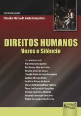 Capa do livro: Direitos Humanos, Coordenadora: Cláudia Maria da Costa Gonçalves