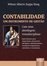 Capa do livro: Contabilidade - Um Instrumento de Gestão, Wilson Alberto Zappa Hoog