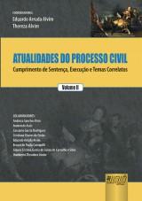 Capa do livro: Atualidades do Processo Civil - Volume 2, Coordenadores: Arruda Alvim e Angélica Arruda Alvim