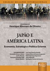 Capa do livro: Japão e América Latina, Coordenador: Henrique Altemani de Oliveira