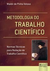 Capa do livro: Metodologia do Trabalho Científico, Waldir de Pinho Veloso