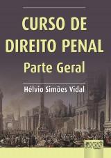 Capa do livro: Curso de Direito Penal, Hélvio Simões Vidal