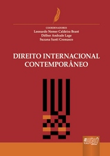 Capa do livro: Direito Internacional Contempor�neo, Coords.: Leonardo Nemer Calderia Brant, D�lber Andrade Lage e Suzana Santi Cremasco