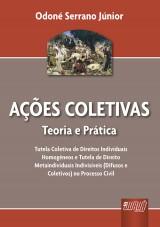 Capa do livro: Ações Coletivas, Odoné Serrano Júnior