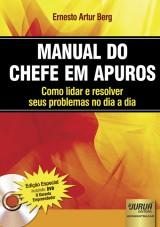 Capa do livro: Manual do Chefe em Apuros - Como lidar e resolver seus problemas no dia a dia, Ernesto Artur Berg