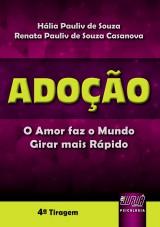 Capa do livro: Adoção, Hália Pauliv de Souza e Renata Pauliv de Souza Casanova