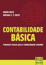 Capa do livro: Contabilidade Básica, Anélio Berti e Adriana Costa Pereira Berti