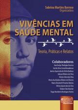 Capa do livro: Vivências em Saúde Mental, Organizadora: Sabrina Martins Barroso