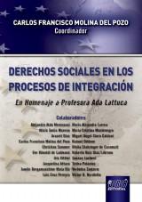 Capa do livro: Derechos Sociales en los Procesos de Integración - En Homenaje a Profesora Ada Lattuca, Coordinador: Carlos Francisco Molina del Pozo