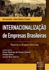 Capa do livro: Internacionalização de Empresas Brasileiras, Armando João Dalla Costa