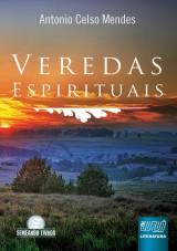 Capa do livro: Veredas Espirituais, Antônio Celso Mendes