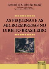 Capa do livro: As Pequenas e as Microempresas no Direito Brasileiro, Antonio de S. Limongi Fran�a