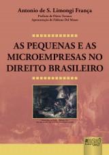 Capa do livro: As Pequenas e as Microempresas no Direito Brasileiro, Antonio de S. Limongi França