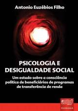 Capa do livro: Psicologia e Desigualdade Social, Antonio Euzébios Filho