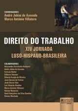 Capa do livro: Direito do Trabalho, Coordenadores: André Jobim de Azevedo e Marco Antônio Villatore