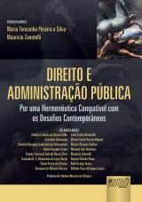 Capa do livro: Direito e Administração Pública, Coordenadores: Maria Teresinha Pereira e Silva e Maurício Zanotelli