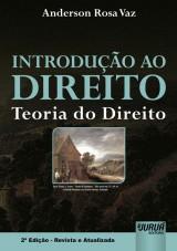 Capa do livro: Introdução ao Direito, Anderson Rosa Vaz