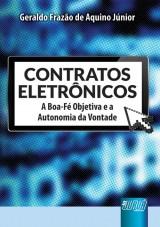 Capa do livro: Contratos Eletrônicos, Geraldo Frazão de Aquino Júnior