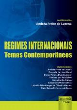 Capa do livro: Regimes Internacionais, Coordenadora: Andréa Freire de Lucena