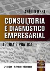 Capa do livro: Consultoria e Diagnóstico Empresarial, Anélio Berti