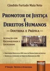 Capa do livro: Promotor de Justiça e os Direitos Humanos, Cândido Furtado Maia Neto