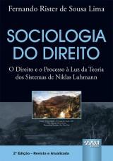 Capa do livro: Sociologia do Direito, Fernando Rister de Sousa Lima
