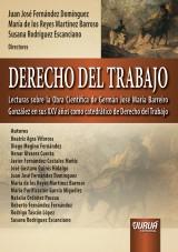 Capa do livro: Derecho Del Trabajo, Directores: Juan José Fernández Domínguez, María de los Reyes Martínez Barroso y Susana Rodríguez Escanciano