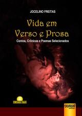 Capa do livro: Vida em Verso e Prosa, Jocelino Freitas