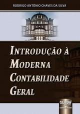 Capa do livro: Introdução à Moderna Contabilidade Geral, Rodrigo Antonio Chaves da Silva